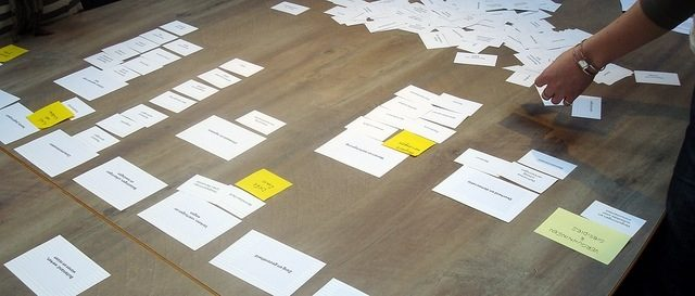 Card Sorting: Designing user informed categories