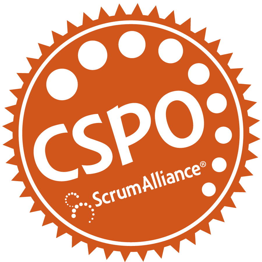 owner cspo scrum certified certification solutionsiq seal scrumdesk