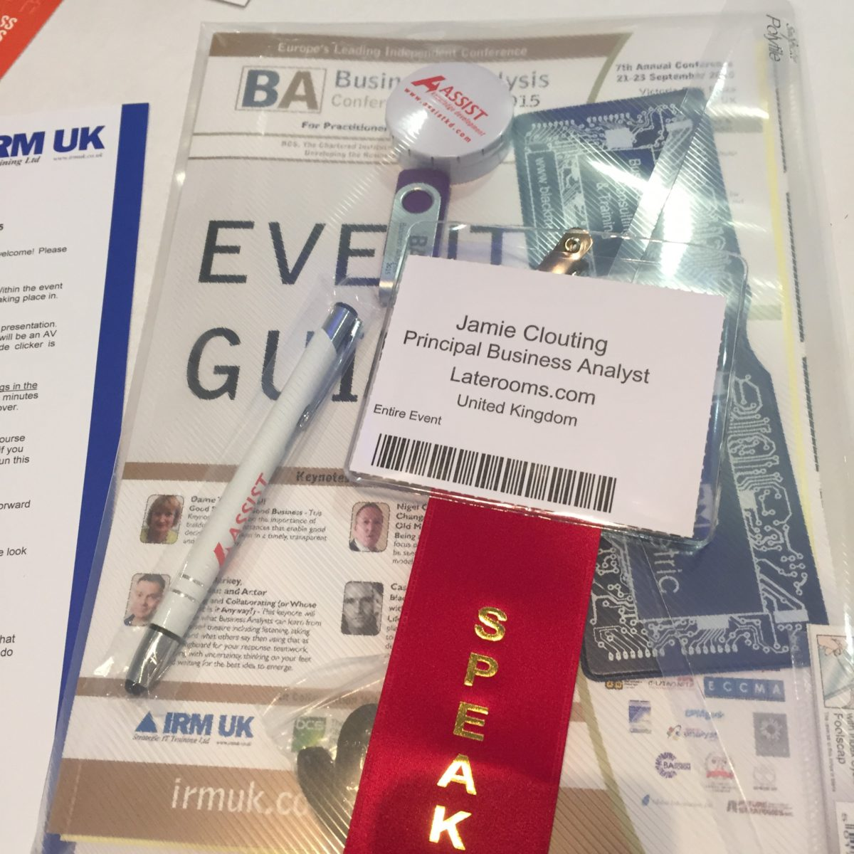 BA Conference Europe: Going beyond what success looks like
